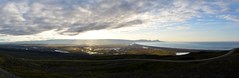 Héradsflói Héradssandur islande iceland route road 94