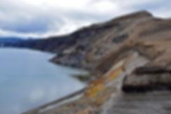 Askja caldeira volcan volcano cratère crater Oskjuvatn lac couleurs