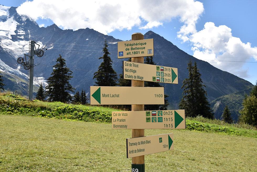 Chamonix - les Houches - randonnée - Mont Lachat - Bellevue