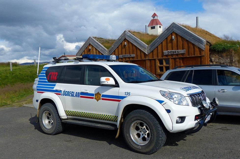 Mödrudalur 901 piste police voiture islande iceland
