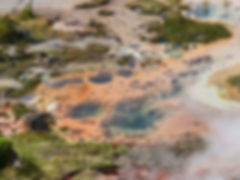 Yellowstone National Parc Artists Paint Pots spring