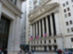 New-Yok - Wall Street - New York Stock Exchange