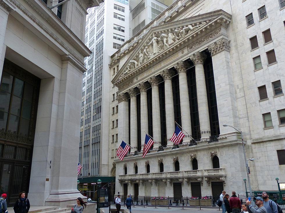 New-Yok - Wall Street - New York Stock Exchange