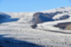 sjónarnípa skaftafell Skaftafellsjökull islande iceland