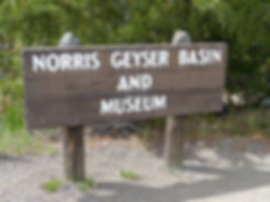 Yellowstone National Parc Norris Geyser Basin