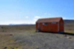 Islande piste F35 refuge Arnarbæli