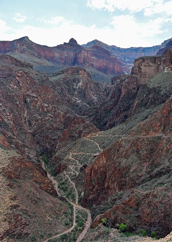 Arizona - Grand Canyon National Park - Bright Angel Trail - Devils Corkscrew