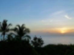 Guadeloupe - coucher soleil - résidence pommes cannelle