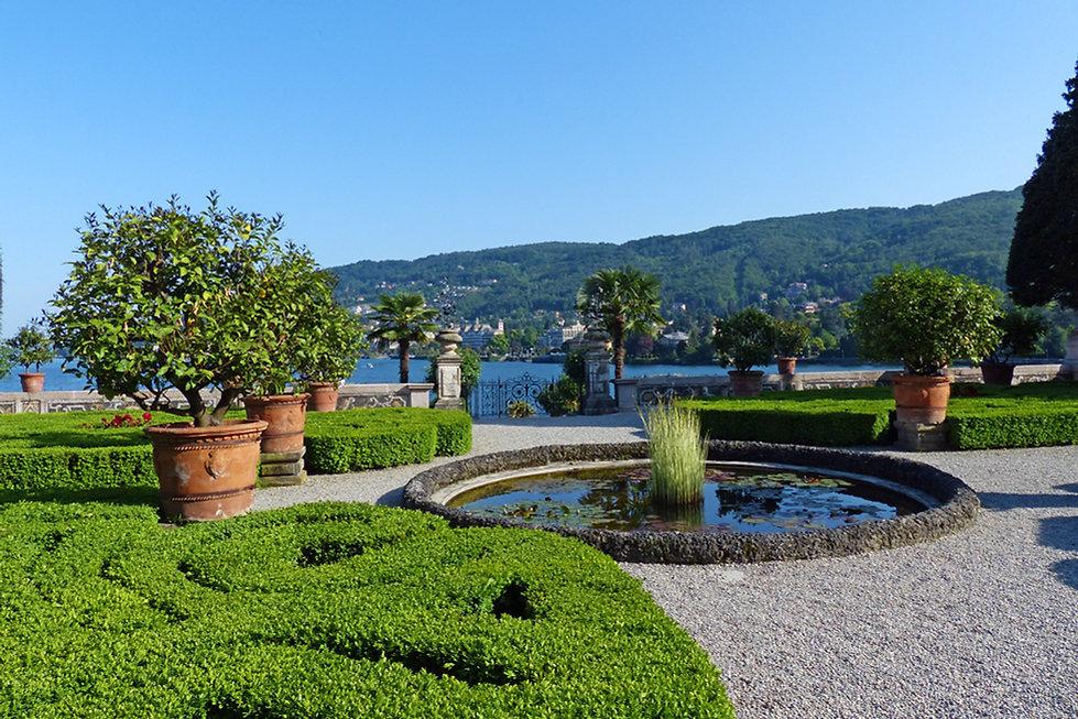 Italie Lac Majeur Isola Bella jardin