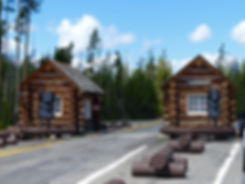 Yellowstone National Park entrée