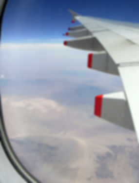 Survol desert mojave A380