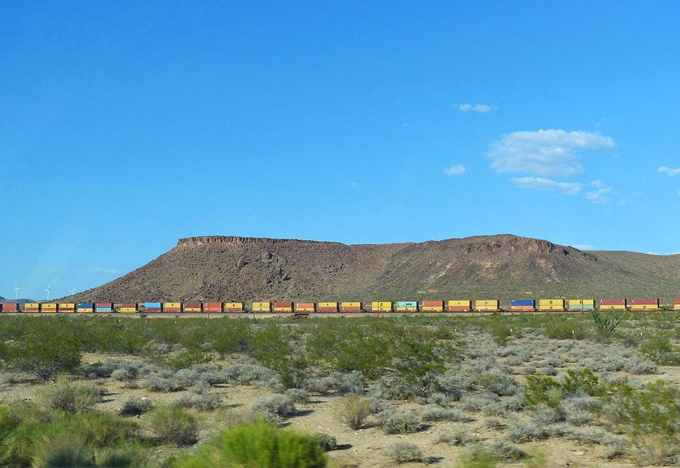 Arizona - train - long train