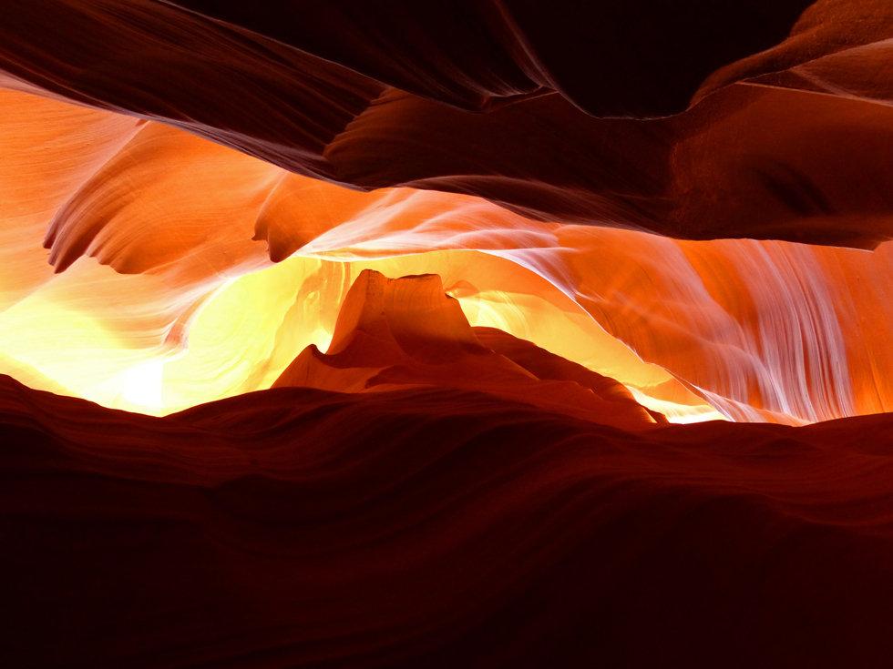 Upper Antelope Canyon monument vallée sunrise