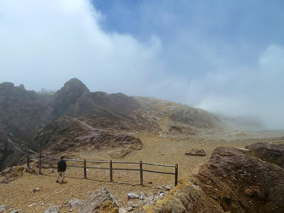 Guadeloupe - Soufrière - Cratère Sud