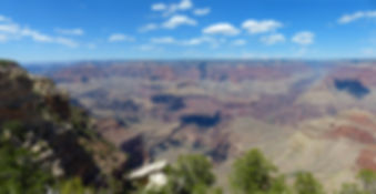 Grand Canyon National Park panorama Mather Point