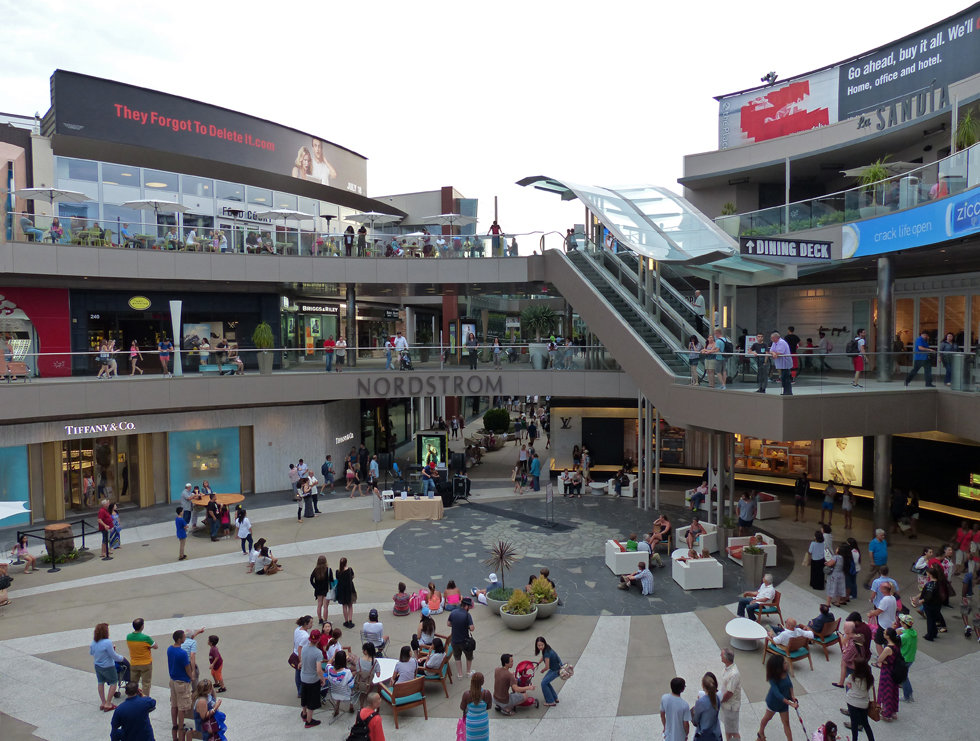 Los Angeles Santa Monica centre commercial nordstrom