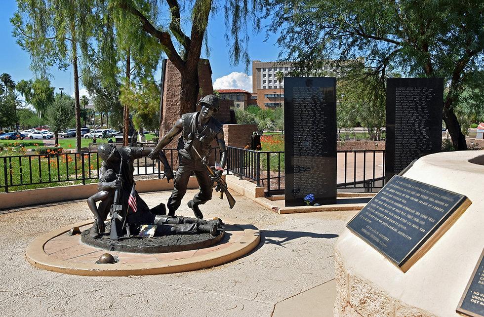 Arizona - Phoenix - Wesley Bolin Memorial Plaza