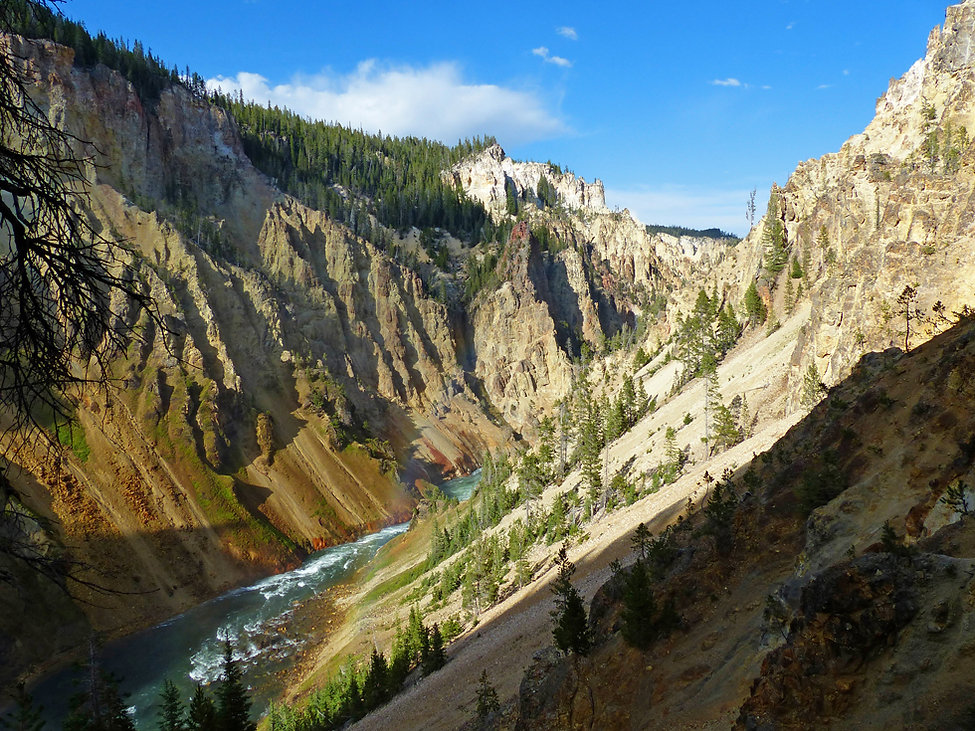 Yellowstone National Park Canyon Uncle Tom's Trail
