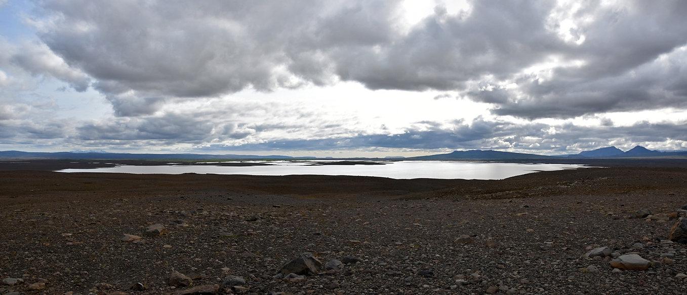 islande piste F335 lac Sandvatn