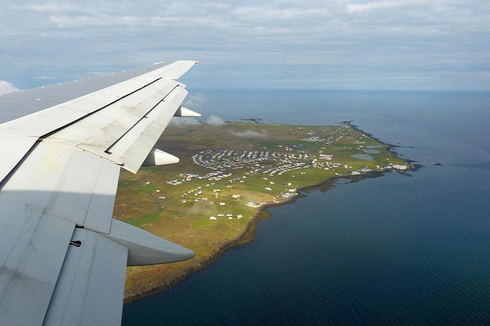 Atterissage islande