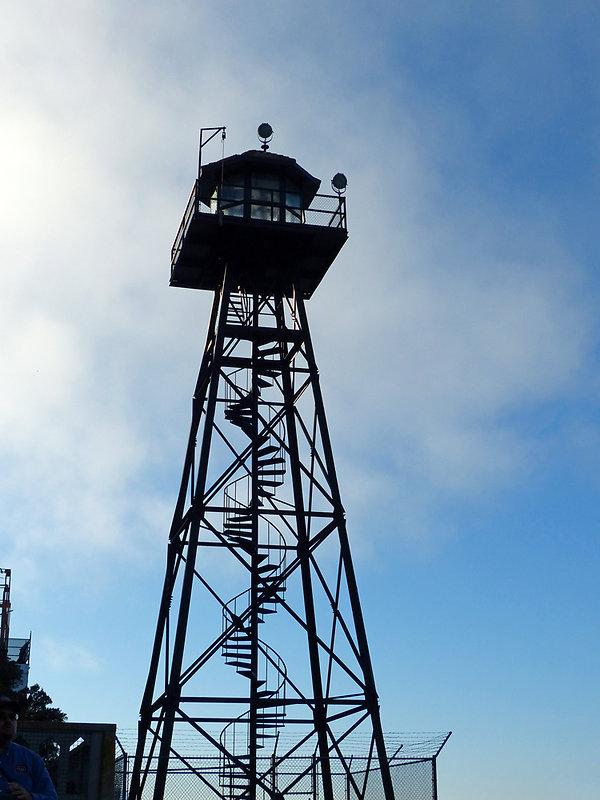 San Francisco - Alcatraz - tour de garde