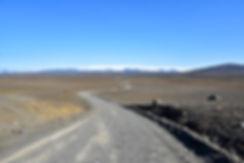 Islande piste F35 glacier Hofsjökull