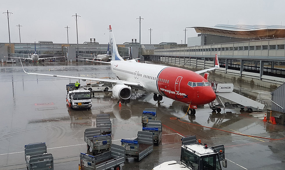 Aéroport Oslo - Norwegian - 737