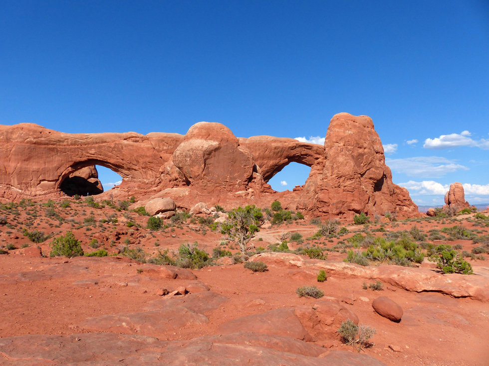 Arches National Park North & South Windows