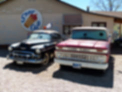 Seligman route 66 cars voitures