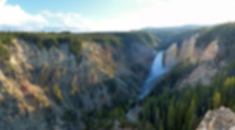 Yellowstone National Park Canyon Lookout Point