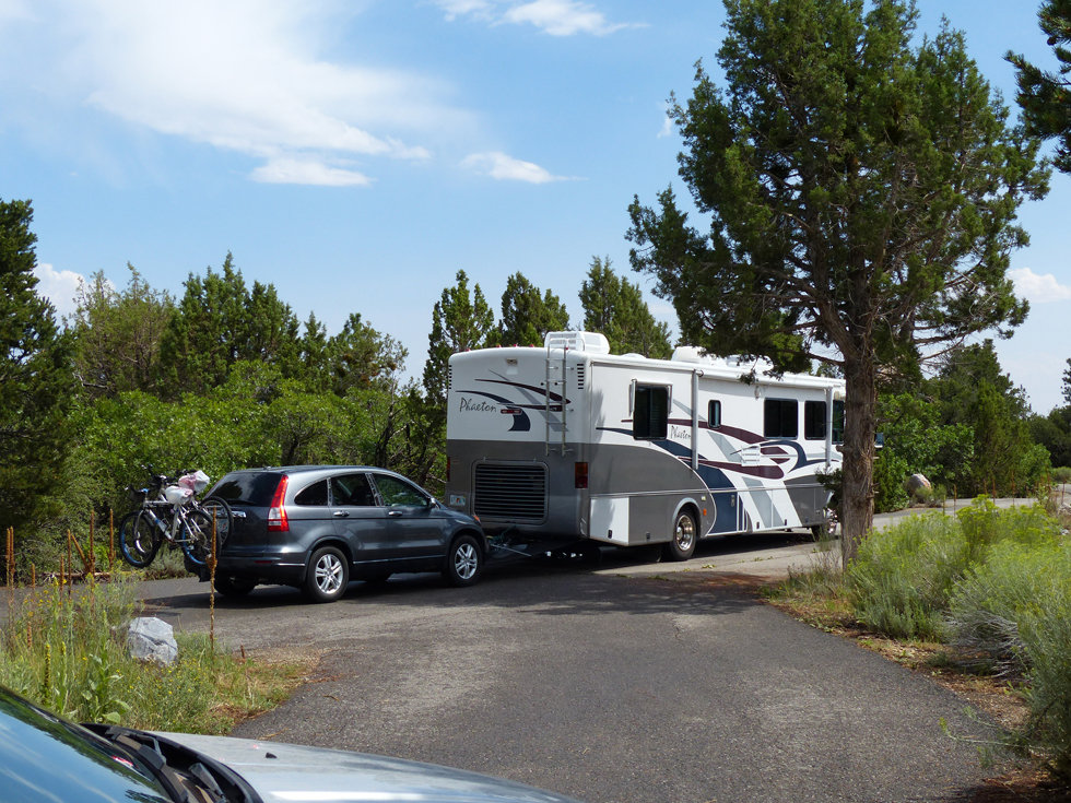 Devils canyon campground camping car