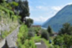 lac lugano sentier olivier gandria