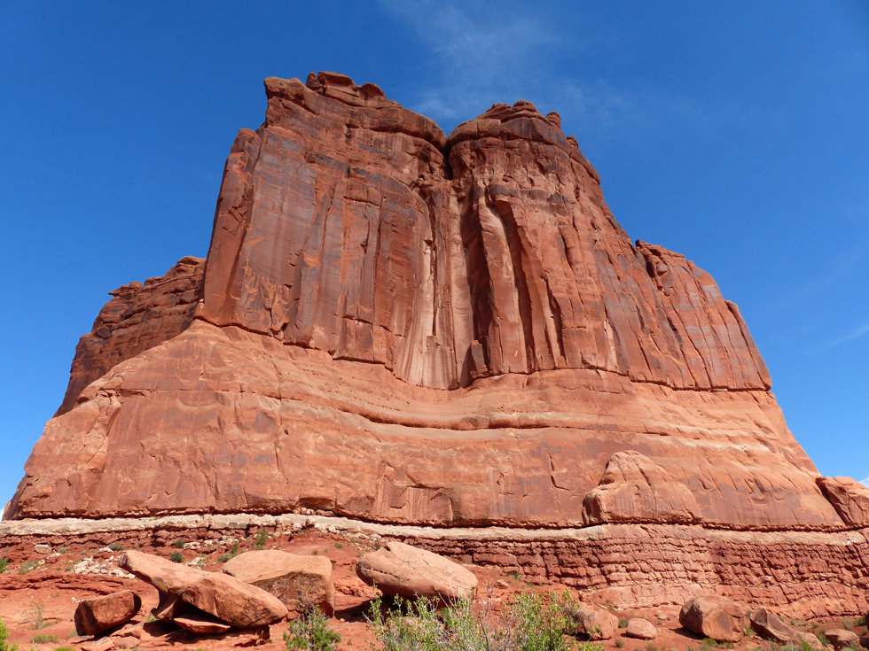 Arches National Park Courthouse Towers