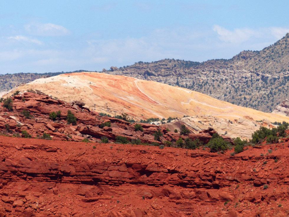 Grand Straircase Escalante National Monument Yellow Rock
