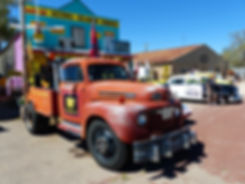 Seligman route 66 cars