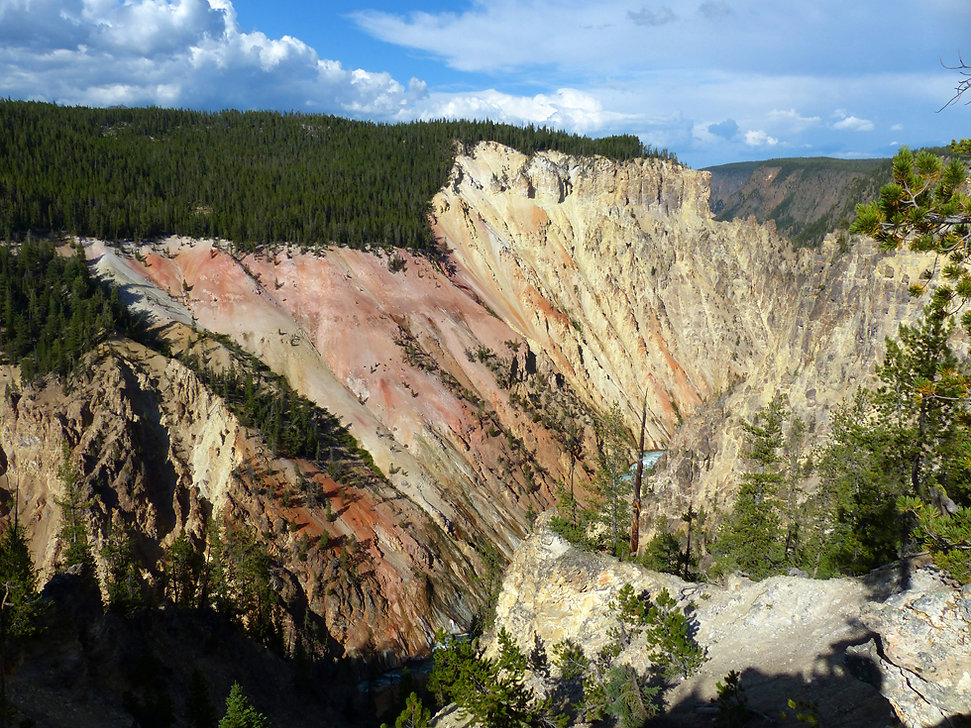 Yellowstone National Park Canyon Artist Point