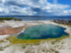 Yellowstone National Park West Thumb Geyser Basin Abyss Pool