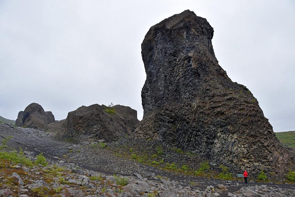 Hljódaklettar Jökulsárgljúfur formations lave colonnes basalte orgues basaltique islande iceland