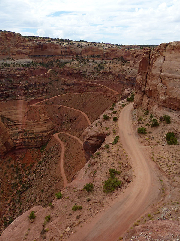 Canyonland National Park Shafer Canyon Overlook