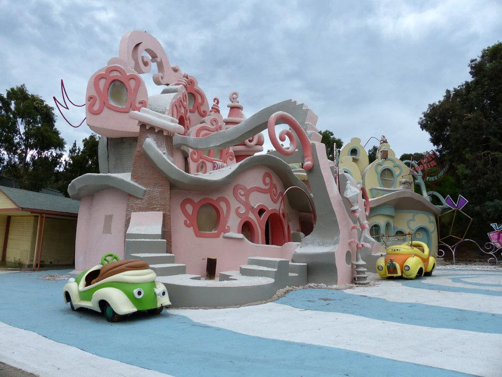 Universal Studios Hollywood studio tour Grinch