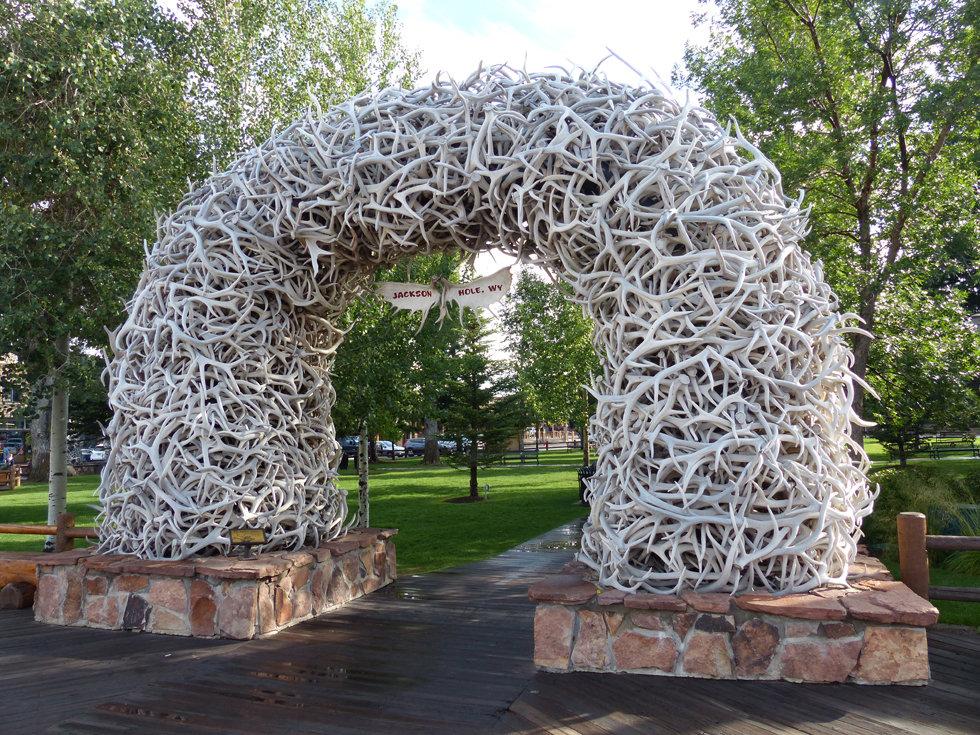 Jackson Hole Arche bois