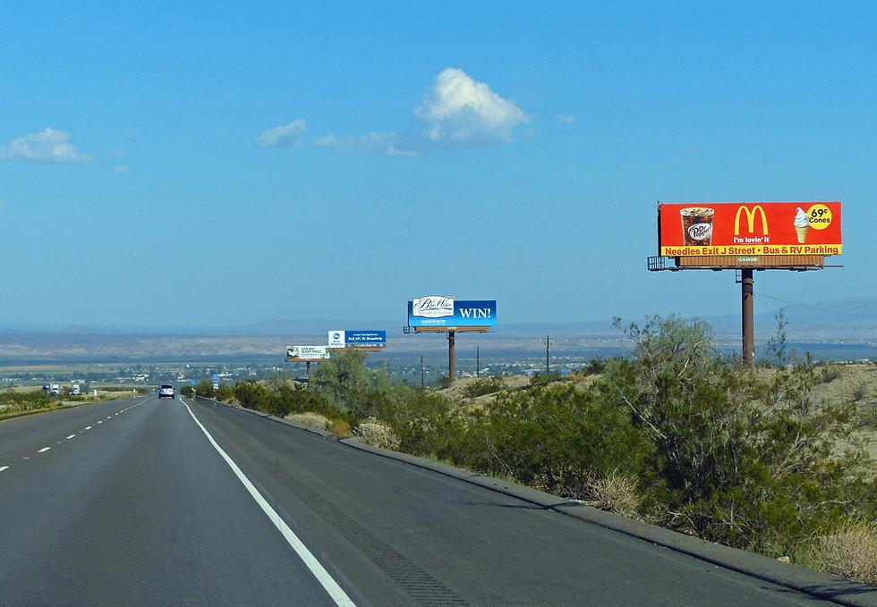 Californie - Interstate 40 - Mojave desert