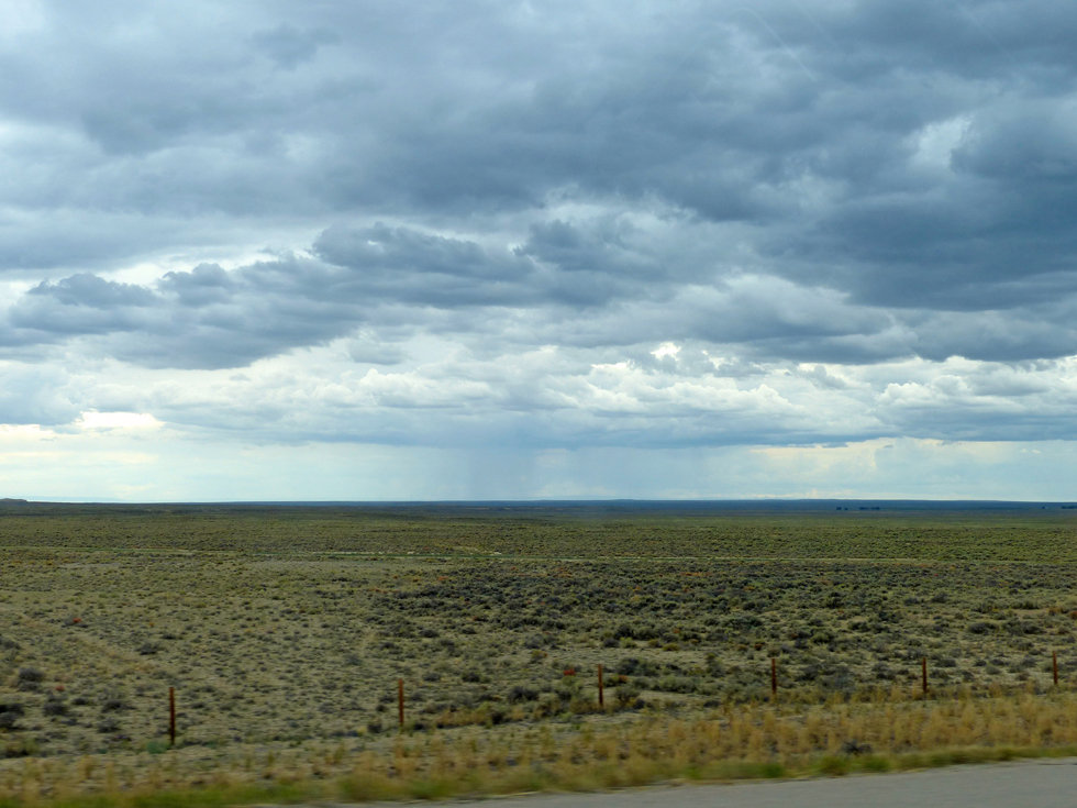 Wyoming plaine