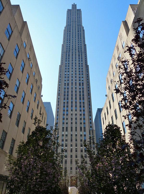 New-York - Rockefeller Center - Comcast Building