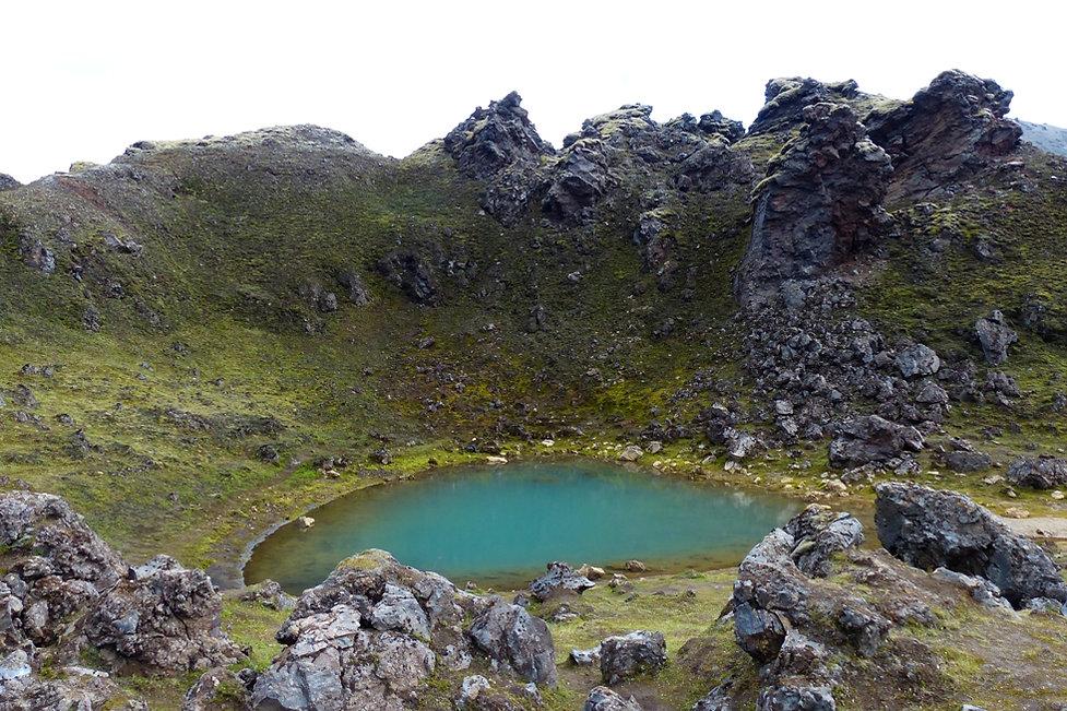 landmannalaugar lac bleu