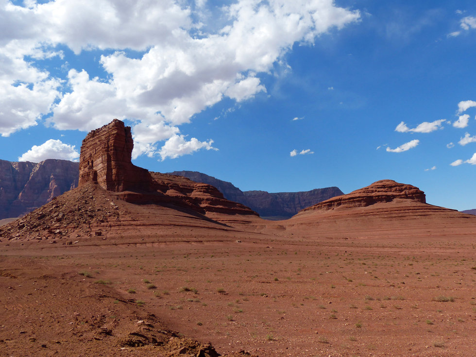 Marble Canyon Cathedral Rock