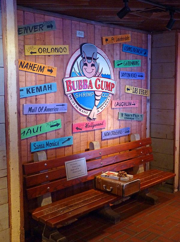 New-York - Times Square - Bubba Gump