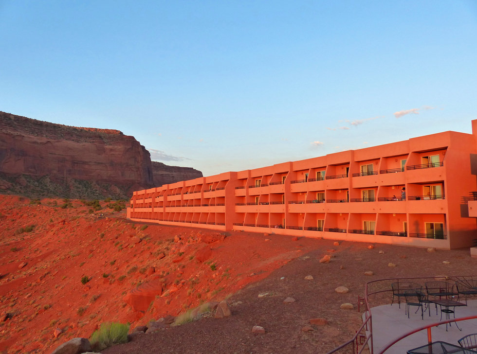 Monument Valley sunrise the view hotel