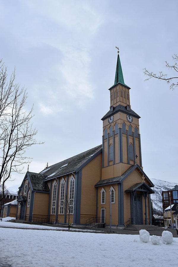 Norvège - Tromsø - église - cathedral - Domkirke