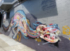 San Francisco - Haight Ashbury - fresque